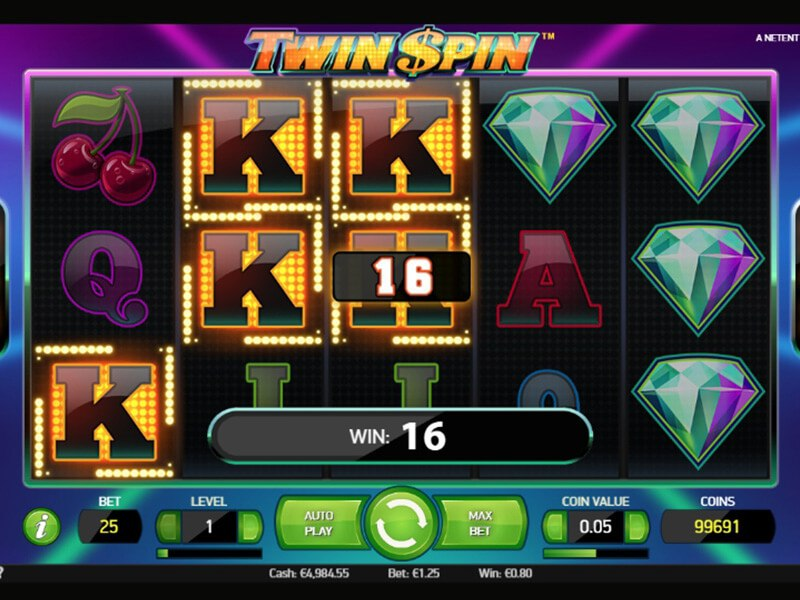 Twin Spin Slot screenshot 3